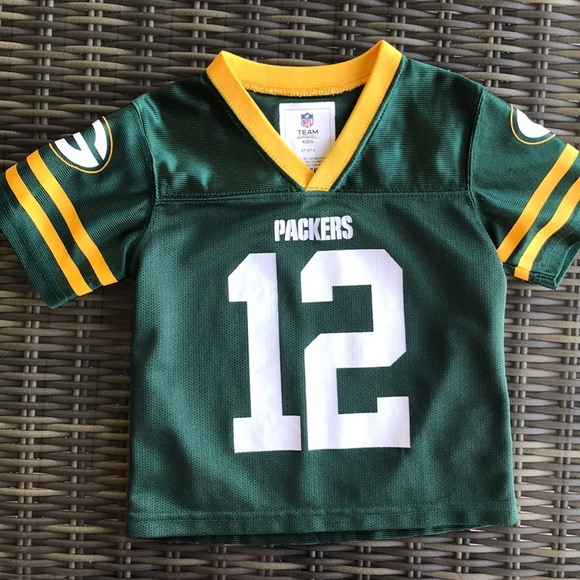 quality design 5d3ee 2f235 Aaron Rodgers packers jersey baby boy 2T